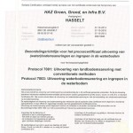 certificaat BRL 7000